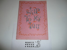 1958 Skip To My Loo Songbook