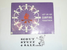 1960 Lets Go Camping Together Pamphlet