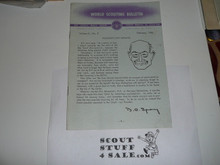 1963 World Scouting Bulletin