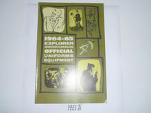 1964-1965 Winter  Explorer Scout Equipment Catalog