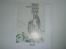 1963-1964 Winter Explorer Scout Equipment Catalog
