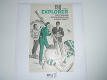 1962-1963 Winter  Explorer Scout Equipment Catalog
