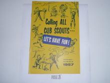 1957 Spring/Summer Cub Scout Equipment Catalog