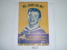 1953 Cub Scout Christmas Equipment Catalog #1