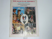 1982 Fall Leader's Boy Scout Equipment Catalog