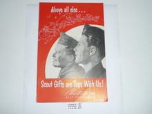 1952 Christmas Boy Scout Equipment Catalog