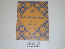 1954 Pack Record Book, 7-63 Printing