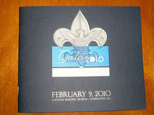 Program and Menu from the Boy Scout 100th Anniversary Gala in Washington DC