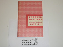 1970-1971 Charter and Bylaws of the Boy Scouts of America, 7-70 Printing