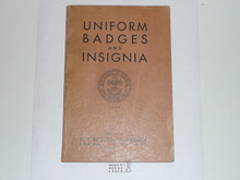 The Uniform Badges and Insignia, 1933 Printing, Boy Scout Service Library