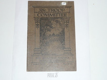 The Troop Committee, 1929 Printing, Boy Scout Service Library