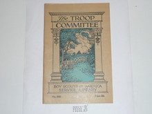 The Troop Committee, 11-38 Printing, Boy Scout Service Library