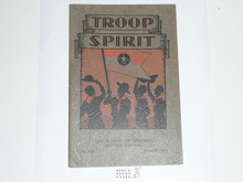 Troop Spirit, 1930 Printing, Boy Scout Service Library