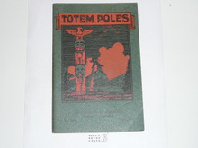 Totem Poles, 1930 Printing, Boy Scout Service Library