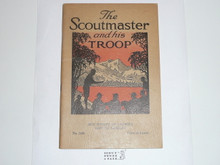 The Scoutmaster and His Troop, 3-35 Printing, Boy Scout Service Library