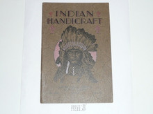 Indian Handicraft, 1930 Printing, Boy Scout Service Library