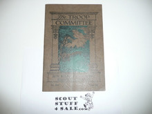 The Troop Committee, 1931, Boy Scout Service Library, 4-32 Printing