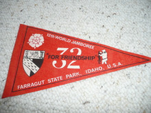 1967 World Jamboree Felt Pennant