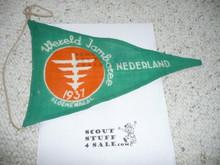 1937 World Jamboree Pennant