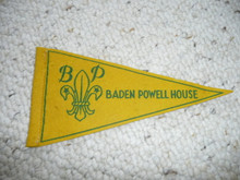 Old Baden Powell House Felt Pennant