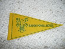 Old Baden Powell House Felt Pennant