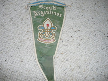 Old Argentinian Boy Scout Pennant #2