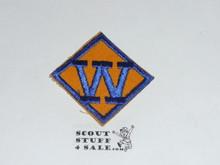 Webelos W Cub Scout Rank, twill