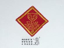 Bear Cub Scout Rank, felt, lt use