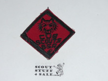 Wolf Cub Scout Rank, twill, lt use