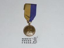 Cub Scout Gold Raingutter Regatta Medal