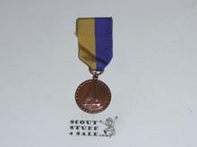 Cub Scout Bronze Raingutter Regatta Medal