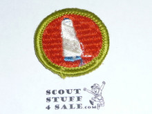Textiles - Type G - Fully Embroidered Cloth Back Merit Badge (1961-1971)