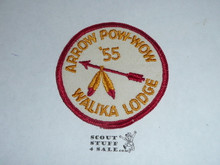 Order of the Arrow Lodge #228 Walika 1955 Pow Wow Patch