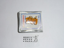 1991 Boy Scout World Jamboree 1991 Logo Pin