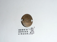 1963 Boy Scout World Jamboree Bronze Participant small Pin