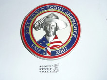 2007 Boy Scout World Jamboree USA Contingent Paper Weight