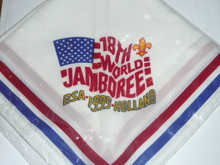 1995 Boy Scout World Jamboree USA Contingent Neckerchief