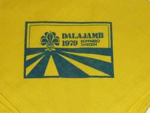1979 Boy Scout World Jamboree Neckerchief