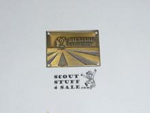 1979 Boy Scout World Jamboree Hiking Stick Emblem