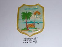 1959 Boy Scout World Jamboree Official Shield Souvenir Patch