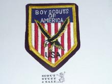 1957 Boy Scout World Jamboree USA Contingent Patch