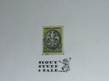 1937 Boy Scout World Jamboree Cancelled Stamp