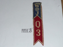 1937 Boy Scout World Jamboree USA Contingent Felt Flashing