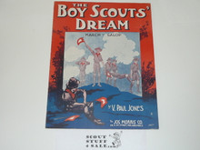 1915, The Boy Scout's Dream Sheet Music