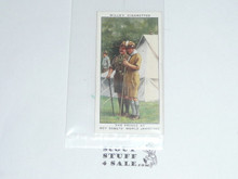 Imperial Tobacco Company Of Great Britain, The Reign of H.M. King George VI, A Series of 50, #34 the Prince at the Boy Scouts World Jamboree