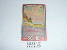 1933 Some Boy Chewing Gum Boy Scout Card Set By the Goudey Gum Company, Boston Ma, #17 Below the Earth's Surface