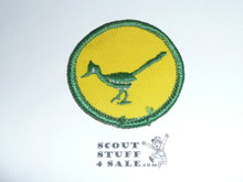 RoadRunner Patrol Medallion, yellow Twill with gauze back, 1972-1989