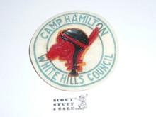 Camp Hamilton Felt Camp Patch