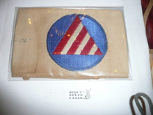 Civil Defense Air Raid Warden Armband - Used by Scouts during WWII - Used