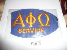 Felt Alpha Phi Omega Service Armband - Boy Scout Service Fraternity